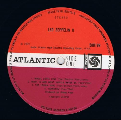 Led Zeppelin Ii Vinyl Lp Planet Earth Records
